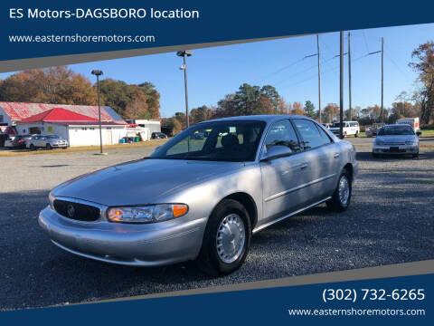 2004 Buick Century for sale at ES Motors-DAGSBORO location in Dagsboro DE