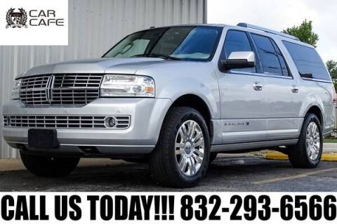 2014 Lincoln Navigator L for sale at CAR CAFE LLC in Houston TX