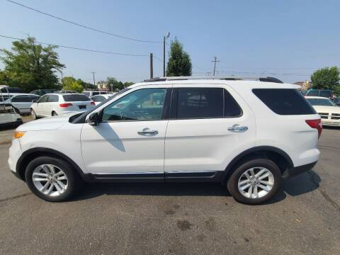 2013 Ford Explorer for sale at Silverline Auto Boise in Meridian ID