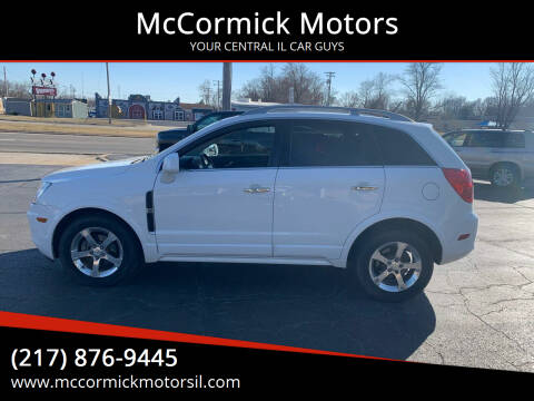 2014 Chevrolet Captiva Sport for sale at McCormick Motors in Decatur IL
