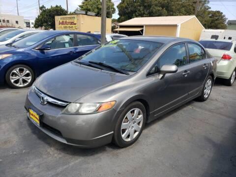 2008 Honda Civic for sale at L & M MOTORS in Santa Maria CA