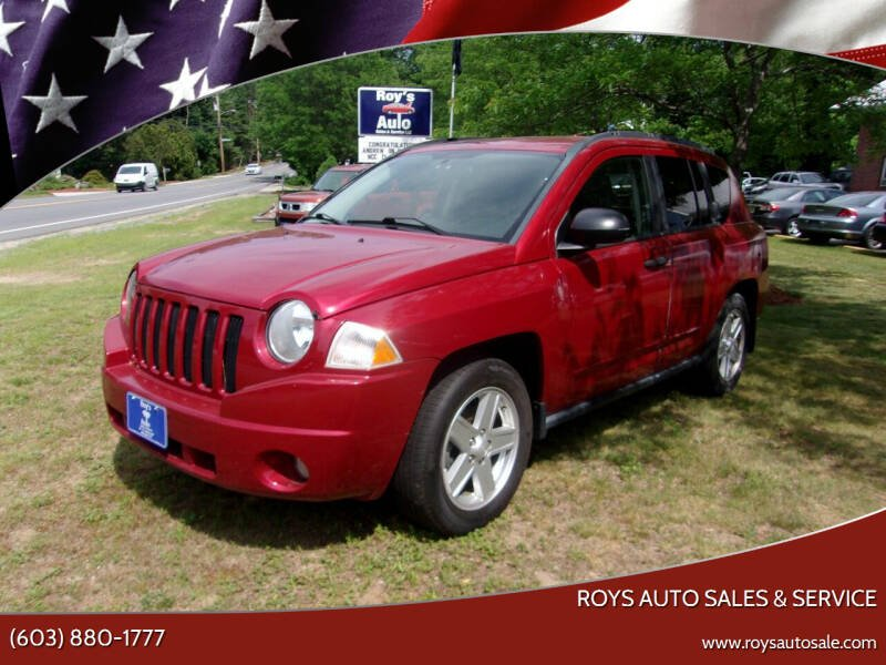2010 Jeep Compass for sale at Roys Auto Sales & Service in Hudson NH