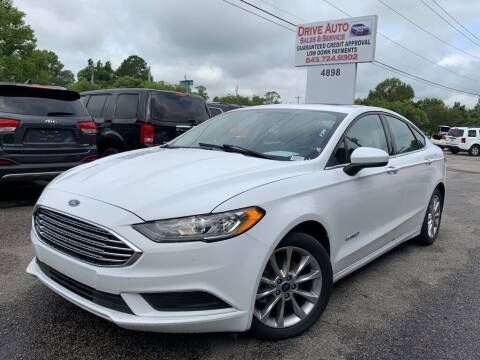 2017 Ford Fusion Hybrid for sale at Drive Auto Sales & Service, LLC. in North Charleston SC