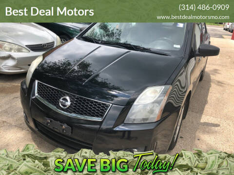 2011 Nissan Sentra for sale at Best Deal Motors in Saint Charles MO