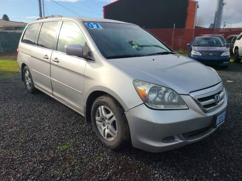 2007 Honda Odyssey for sale at Universal Auto Sales in Salem OR
