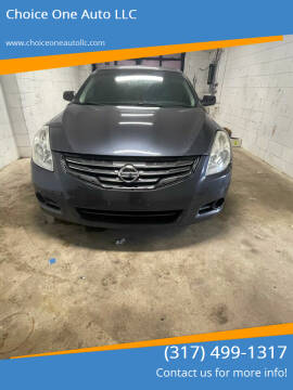 2012 Nissan Altima for sale at Choice One Auto LLC in Beech Grove IN
