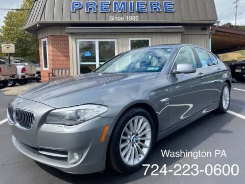 2011 BMW 5 Series for sale at Premiere Auto Sales in Washington PA