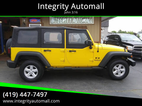 2008 Jeep Wrangler Unlimited for sale at Integrity Automall in Tiffin OH