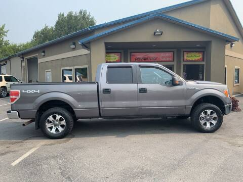 2014 Ford F-150 for sale at Advantage Auto Sales in Garden City ID