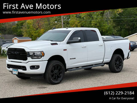 2020 RAM Ram Pickup 2500 for sale at First Ave Motors in Shakopee MN