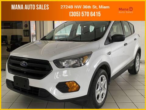 2019 Ford Escape for sale at MANA AUTO SALES in Miami FL