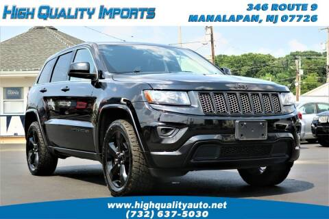 2015 Jeep Grand Cherokee for sale at High Quality Imports in Manalapan NJ