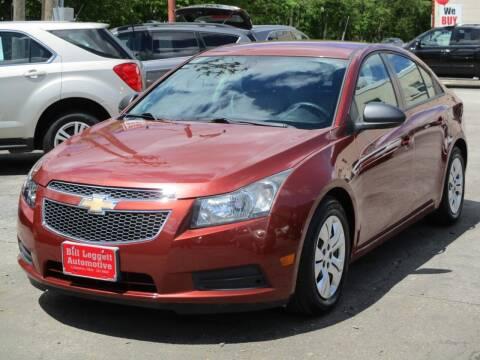 2013 Chevrolet Cruze for sale at Bill Leggett Automotive, Inc. in Columbus OH