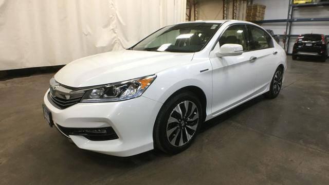 2017 Honda Accord Hybrid for sale at Victoria Auto Sales in Victoria MN