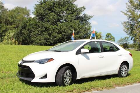 2018 Toyota Corolla for sale at CHASE MOTOR in Miami FL