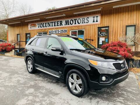 2012 Kia Sorento for sale at Kerwin's Volunteer Motors in Bristol TN