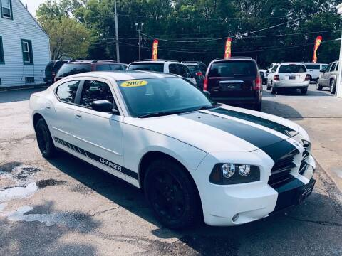 2007 Dodge Charger for sale at SHEFFIELD MOTORS INC in Kenosha WI