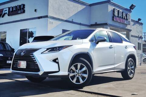 2018 Lexus RX 350 for sale at Fastrack Auto Inc in Rosemead CA
