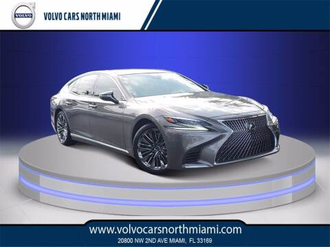 2019 Lexus LS 500 for sale at Volvo Cars North Miami in Miami FL