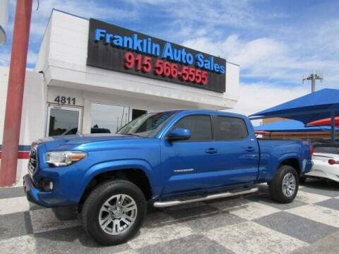 2016 Toyota Tacoma for sale at Franklin Auto Sales in El Paso TX