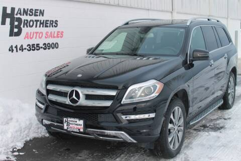 2013 Mercedes-Benz GL-Class for sale at HANSEN BROTHERS AUTO SALES in Milwaukee WI