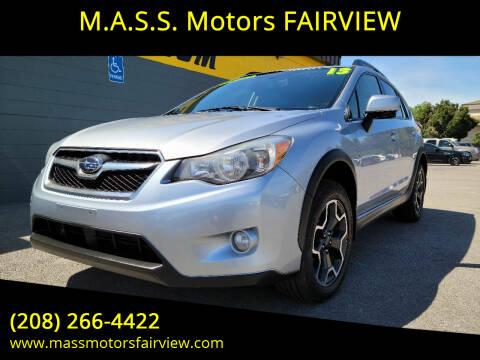 2014 Subaru XV Crosstrek for sale at M.A.S.S. Motors - Fairview in Boise ID