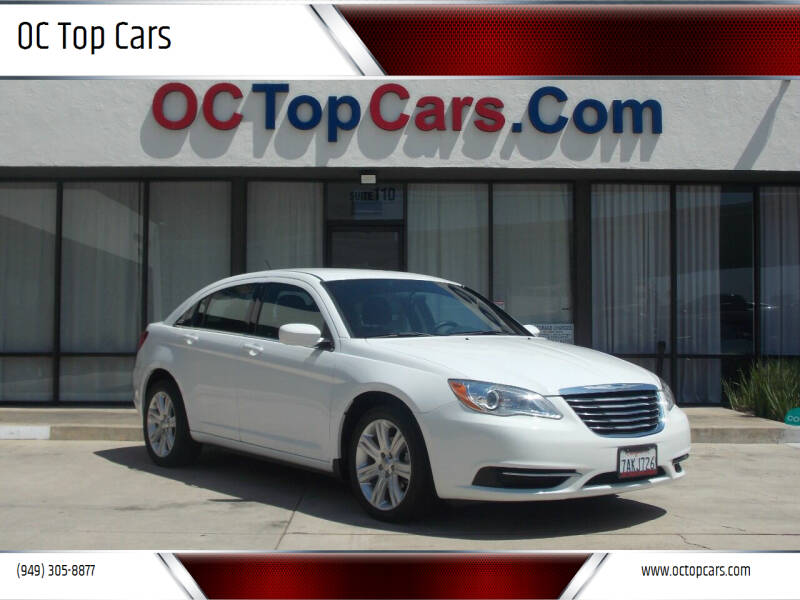 2013 Chrysler 200 for sale at OC Top Cars in Irvine CA