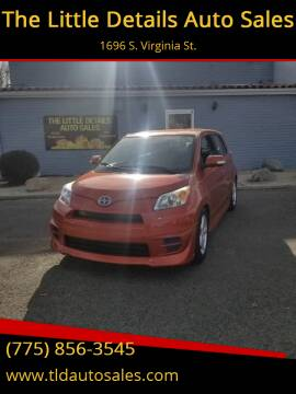 2008 Scion xD for sale at The Little Details Auto Sales in Reno NV
