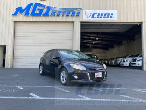 2014 Ford Focus for sale at MGI Motors in Sacramento CA