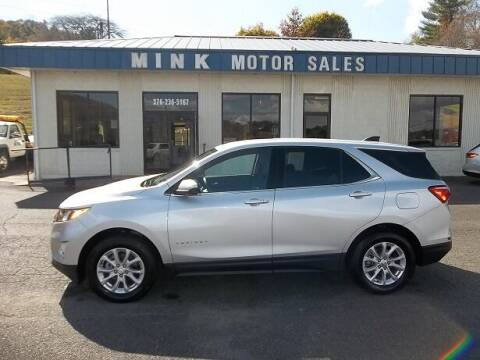 2020 Chevrolet Equinox for sale at MINK MOTOR SALES INC in Galax VA