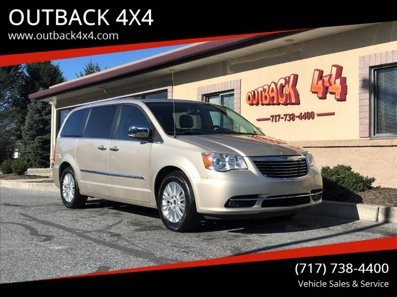 2013 Chrysler Town and Country for sale at OUTBACK 4X4 in Ephrata PA