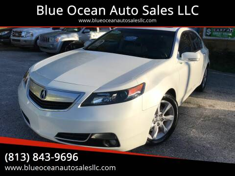 2014 Acura TL for sale at Blue Ocean Auto Sales LLC in Tampa FL