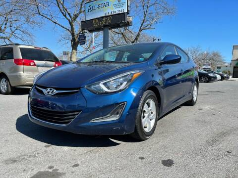 2015 Hyundai Elantra for sale at All Star Auto Sales and Service LLC in Allentown PA