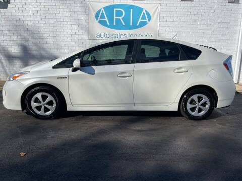 2013 Toyota Prius for sale at ARIA  AUTO  SALES in Raleigh NC