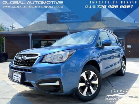 2017 Subaru Forester for sale at Global Automotive Imports of Denver in Denver CO