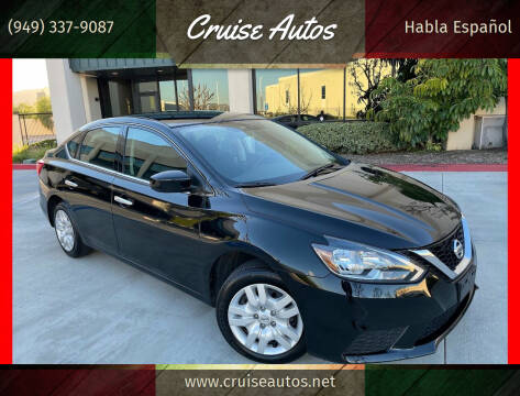 2019 Nissan Sentra for sale at Cruise Autos in Corona CA