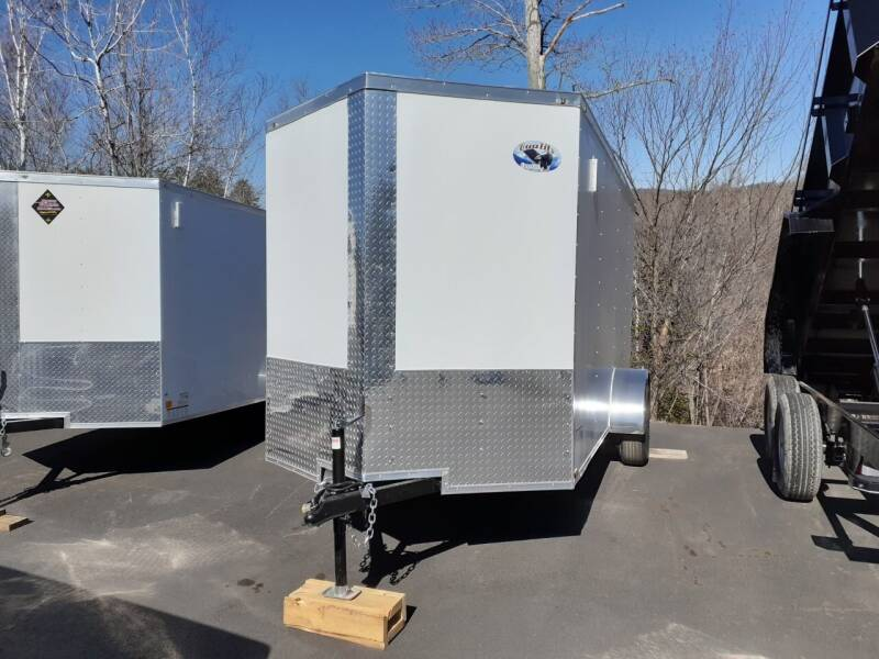 2021 Quality Cargo 6x12 Enclosed Trailer for sale at Mascoma Auto INC in Canaan NH