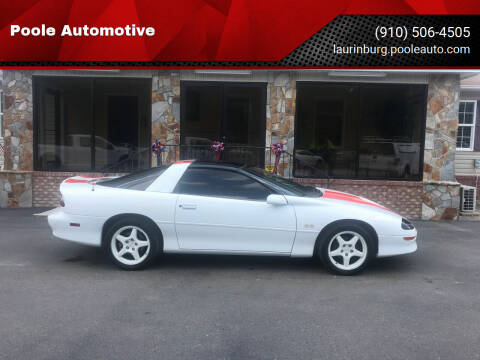1997 Chevrolet Camaro for sale at Poole Automotive in Laurinburg NC