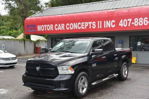 2014 RAM Ram Pickup 1500 for sale at Motor Car Concepts II - Apopka Location in Apopka FL