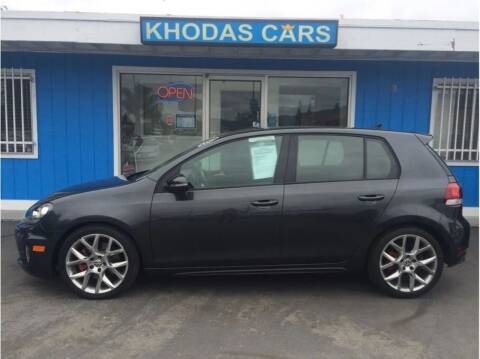 2014 Volkswagen GTI for sale at Khodas Cars in Gilroy CA