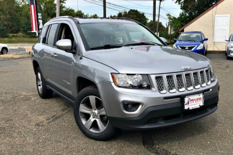 2017 Jeep Compass for sale at PAYLESS CAR SALES of South Amboy in South Amboy NJ