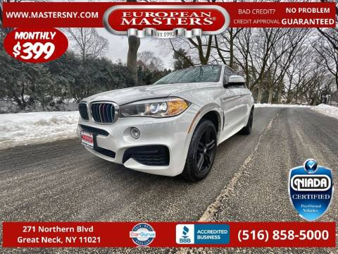 2017 BMW X6 for sale at European Masters in Great Neck NY