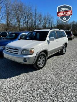 2006 Toyota Highlander for sale at Doyle's Auto Sales and Service in North Vernon IN