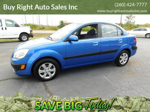 2008 Kia Rio for sale at Buy Right Auto Sales Inc in Fort Wayne IN