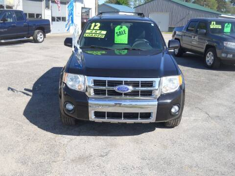 2012 Ford Escape for sale at Shaw Motor Sales in Kalkaska MI
