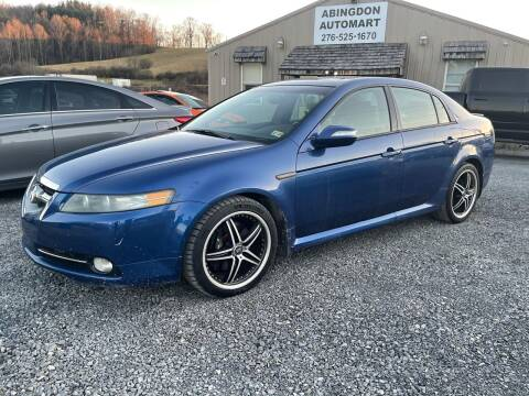 2007 Acura TL for sale at ABINGDON AUTOMART LLC in Abingdon VA