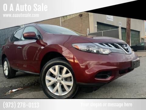 2011 Nissan Murano for sale at O A Auto Sale in Paterson NJ