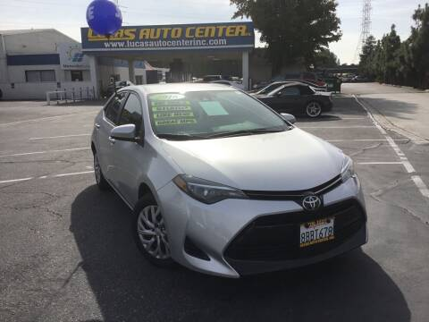 2018 Toyota Corolla for sale at Lucas Auto Center in South Gate CA
