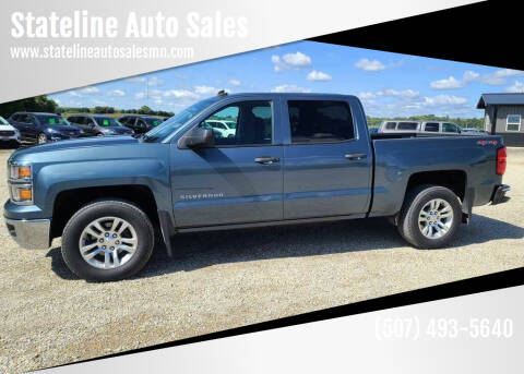 2014 Chevrolet Silverado 1500 for sale at Stateline Auto Sales in Mabel MN