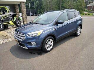 2018 Ford Escape for sale at GT Toyz Motor Sports & Marine in Halfmoon NY